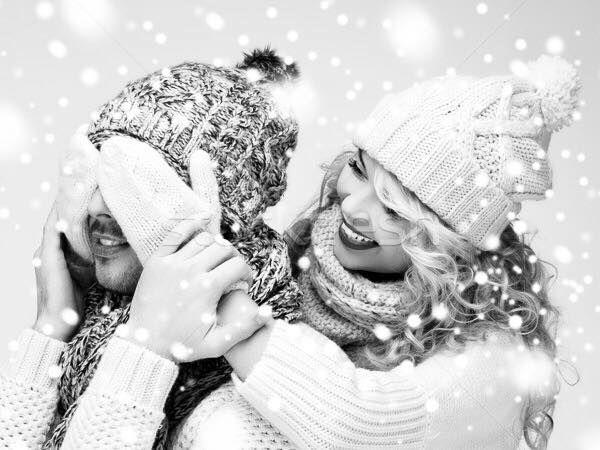 """Картинки по запросу """"вюбленные зимой"""""""""""