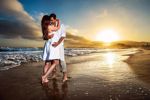 Свадьба Летом - Лето Solstace Закат Влюбленные #1988462 - Weddbook